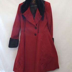 New w tags original Hell Bunny Garment coat elvira
